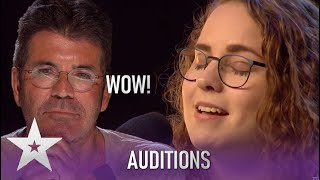 Beth Porch: Nurse Has Everyone In TEARS With Original Song.. Wow!!  Britain's Got Talent 2020
