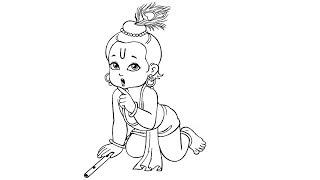How To Draw Lord Krishna 免费在线视频最佳电影电视节目 Viveos Net