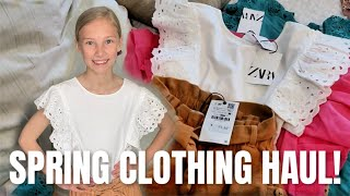 Spring Clothing Haul For 5 Kids! Where I Shop For Clothes.