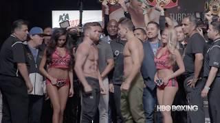 Canelo-Golovkin Weigh-In Recap (HBO Boxing News)