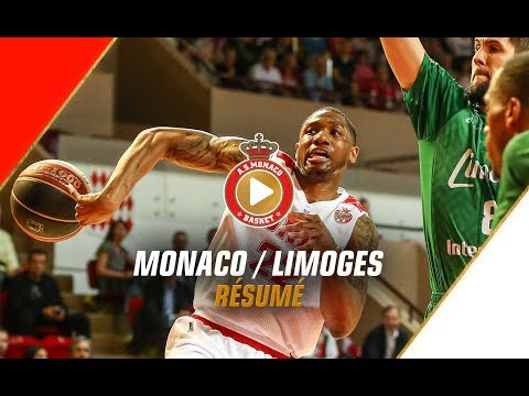 PLAYOFFS — Monaco 93 - 73 Limoges — 1/4 finale, match 1 — Highlights