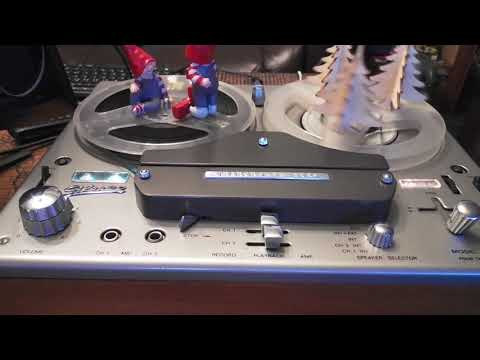 Tandberg Model 74b Reel To Reel maintenence - смотреть онлайн на Hah