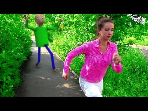 Балди в реальной жизни Рома и мама убегают от Балди Рома и Хелпик