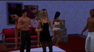 Симс3, Britney Spears - 3 ( The Sims 3 Britney Spears 3 Music Video)