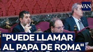 """[JUICIO PROCÉS] Un Mosso A Sànchez El 20-S: """"Puede Llamar Al Papa De Roma, Yo No Me Muevo"""""""