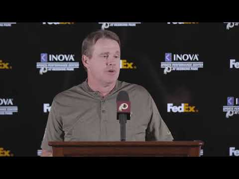 WATCH LIVE: Redskins HC Jay Gruden speaks to the media following the first round of the #NFLDraft