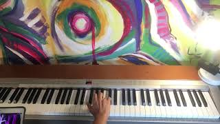 Moments By Alexis Ffrench   Piano Tutorial RH