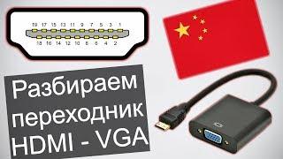 Что можно сказать о переходнике HDMI-VGA. И что можно доделать...