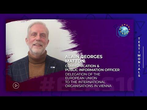EEAS10  Testimonials - Staff -  Alain Matton