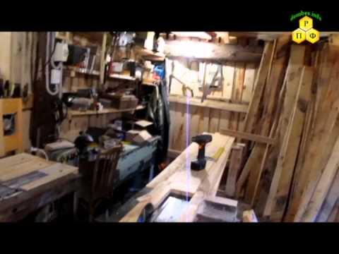 Столярное помещение и использование инструмента