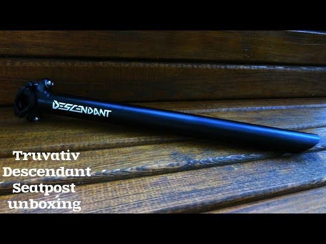 Видео Подседельный штырь Truvativ Descendant Downhill 31.6 0 350mm Black