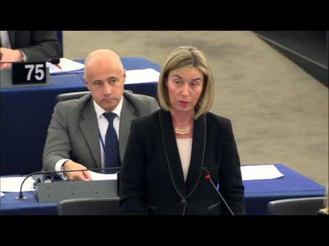 Mogherini announces to EP Colombia-Farc agreement on bilateral ceasefire