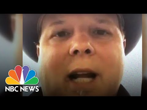 'She Was Pretty Much Out Of The Plane And They Pulled Her Back In' | NBC News