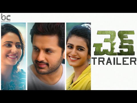 Check Telugu Movie Official Trailer