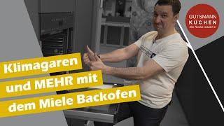 vorgestellt Miele Backofen H7464 BPX mit Klima Garen und dann auch noch grifflos