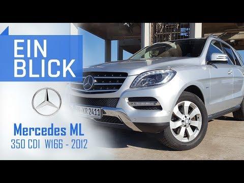 Mercedes ML350 CDI 2012 W166 - Idealer Reisebegleiter oder Blender? Vorstellung, Test & Kaufberatung