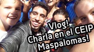Vlog! Charla Astronómica CEIP Oasis Maspalomas