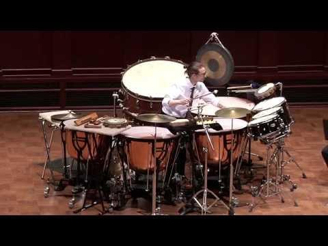 Darius Milhaud | Concerto pour Batterie et Petit Orchestre | Dan Piccolo, percussion