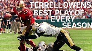 Terrell Owens' Best Play of Every Season | NFL Highlights