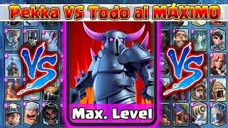 Pekka VS TODAS al MÁXIMO | 1 Vs 1 | Clash Royale - dooclip.me
