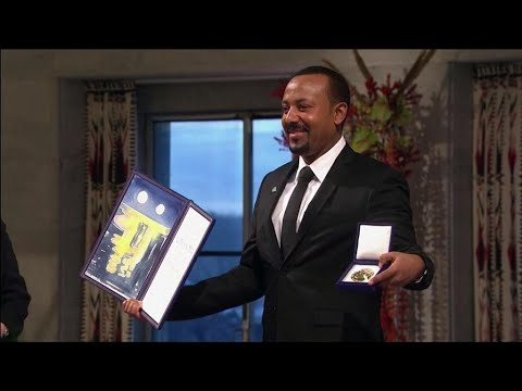 Ethiopia PM Abiy Ahmed receives Nobel Peace Prize in Oslo