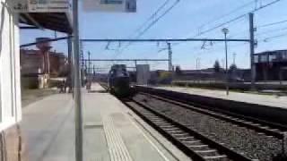 preview picture of video 'E9 Cremallera de Montserrat al seu pas per Olesa.'
