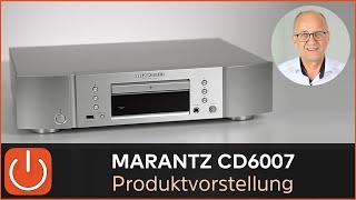 PRODUKTVORSTELLUNG CD-/USB-Player Marantz CD6007 -  THOMAS ELECTRONIC ONLINE SHOP -