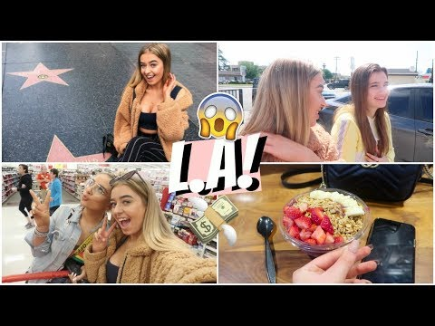 THE BEST DAY IN L.A!! TARGET ADVENTURES, WALK OF FAME AND MY FIRST ACAI BOWL!