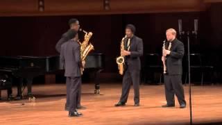 Kapustin (arr. Dundee): Preludes in Jazz Style, Movement II Allegro & Movement IV Presto