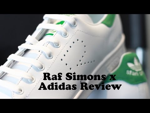 Raf Simons x Adidas Stan smith Review from Ssense