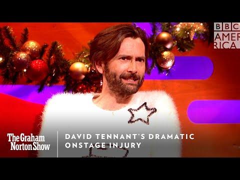 David Tennant o zranění v divadle a své první roli - The Graham Norton Show