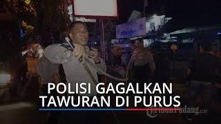 Polisi Gagalkan Aksi Tawuran Remaja di Purus Kota Padang, Senjata Tajam Berserakan di TKP