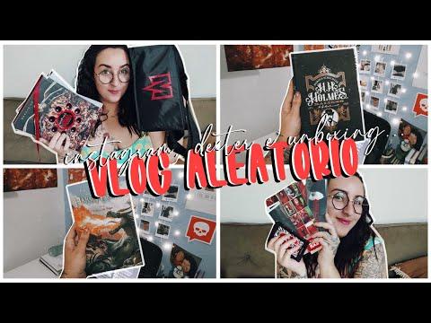 VLOG ALEATÓRIO #04 | leituras, cadelinha de Dexter, boicotada no instagram e unboxing darkside books