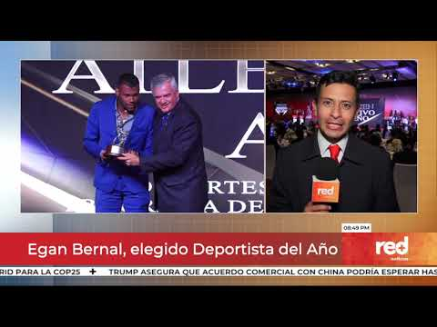 Red+   Egan Bernal, elegido Deportista del Año