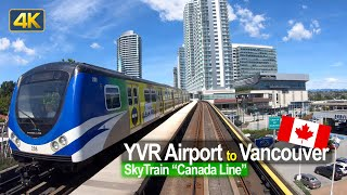SkyTrain Ride | YVR Airport To Downtown Vancouver