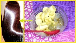 Banana Hair Mask For Extremely Shiny & Soft Hair
