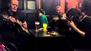 Folklore in a pub, Edinburgh, Scotland, 2010.