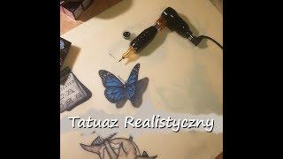Kurs Tatuowania #18 Tatuaz Realistyczny / 3D Tattoo