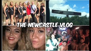 DRAG QUEENS, STRIPPERS AND LOTS OF FAKE TAN- HEN PARTY IN NEWCASTLE! // ITS A SOPHIE SUNDAY