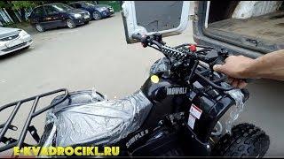 Школьнику купили квадроцикл ATV E54-G8