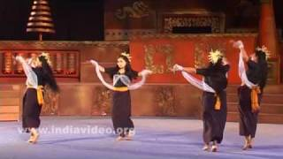 A traditional dance from Manipur