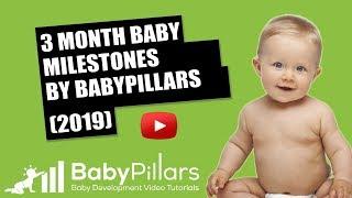 3 Month Baby Milestones and 2 Month Baby Milestones: Making Symmetrical Movements (update 2019)