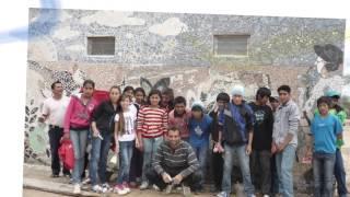 "Mural Laguna Yacaré ""Los Wichis"", artista: Emiliano Flores"