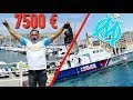 MARSEILLE : 7500 EUROS RECORD DU MONDE DU VIEUX PORT BATTU CHRISDETEK PE...
