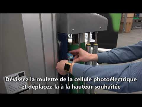 CTT 230: Ajuster la cellule photoélectrique