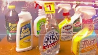 The Household Cleaner Test