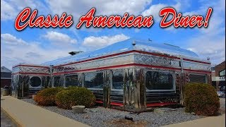 CLASSIC AMERICAN DINER - WAITE PARK DINER!!! - 1950s Diner!