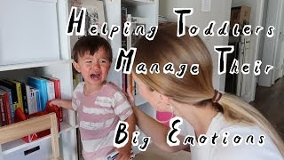 Helping Toddlers Manage Their Big Emotions Using Emotional Intelligence
