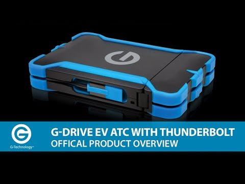Meet the G-DRIVE ev ATC with Thunderbolt