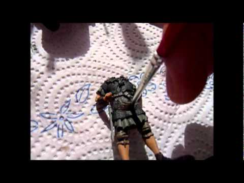 How to paint figures Part I: Acrylic paints - the groundwork.
